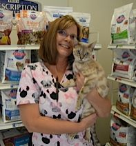 Dayton Animal Clinic - Dayton, VA - Our receptionist, Lisa