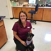 Dayton Animal Clinic - Dayton, VA - Our technician, Cherie